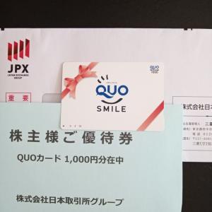 2021年(3月期)株主優待 JPX