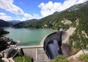 1963年6月5日、「黒四ダム完成の日」