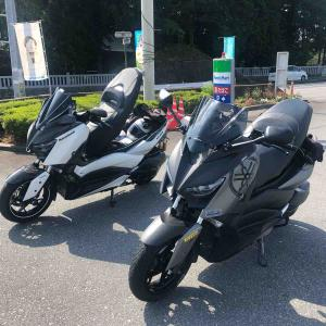 TEAM XMAX 定例(8月)ツーリング