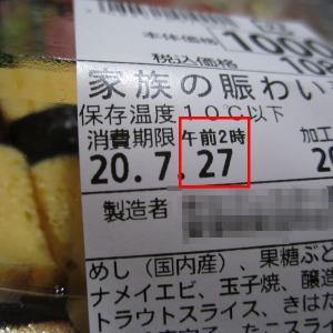 賞味期限を二日過ぎたお寿司は食べられるのか