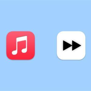 Macでミュージック・TVアプリを任意の秒数で巻き戻し・早送りする方法