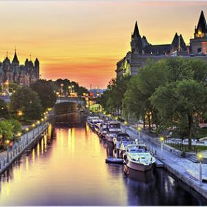 オタワ 観光【ユネスコ世界遺産のリドー運河】在住者おすすめの楽しみ方