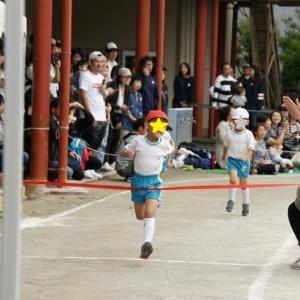 息子の幼稚園運動会