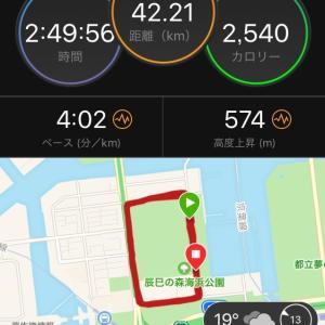 【結果】練習フルマラソン