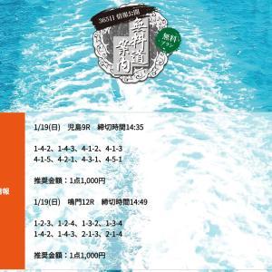 競艇道の口コミ!1月19日(日曜)競艇予想サイトの無理情報を晒す2020!