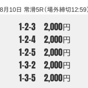 【常滑】24ボートの無料予想!口コミと検証!【8月10日】