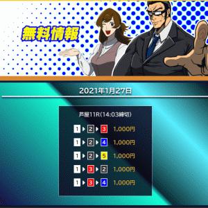 【芦屋】〝競艇サラリーマン〟の無料予想!口コミと検証!《1月27日》