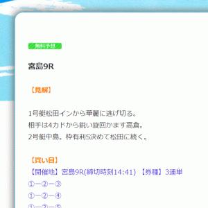 【宮島】〝競艇ウェーブ〟の無料予想!口コミと検証!《7月14日》