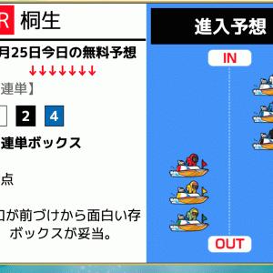 【桐生】〝ブルーオーシャン競艇〟の無料予想!口コミと検証!《7月25日》