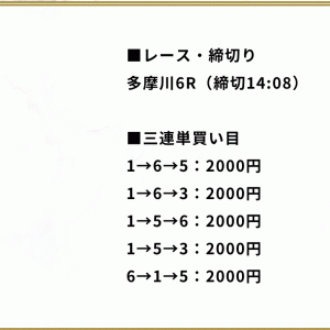 【多摩川】〝競艇365〟の無料予想!口コミと検証!《7月30日》