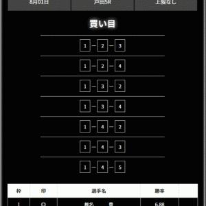 【戸田】〝リアルタイムボート〟の無料予想!口コミと検証!《8月2日》