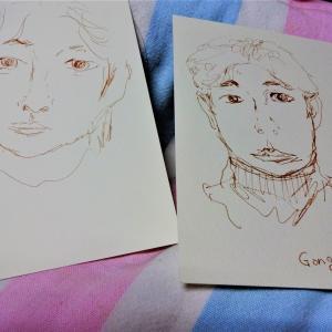 トッケビのコン・ユーさん描きました^^
