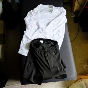 GORIXパッド付パンツと冷感長袖シャツを買ってみた