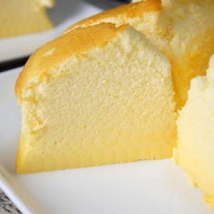 基本のスフレチーズケーキ【かなぢゃん食堂】【手作りスイーツ】