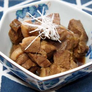 豚肩ロースでトロトロ豚の角煮【かなぢゃん食堂】
