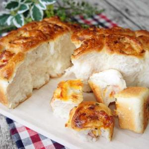 ベーコンとチーズのちぎりパン【かなぢゃん食堂】【手作りパン】