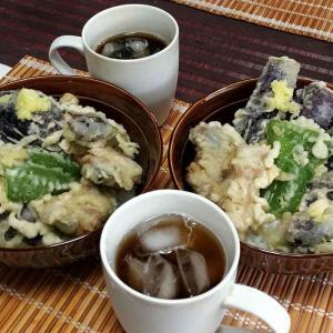 夏メニュー・夏野菜の食べ納め【かなぢゃん食堂】