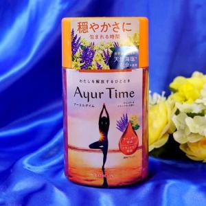 バスクリン アーユルタイム ラベンダー&イランイランの香り【入浴剤】【バスソルト】