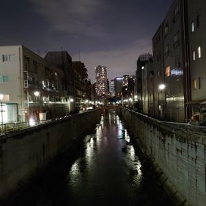 中野新橋からの夜景