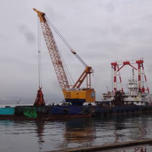 今日の函館若松埠頭。