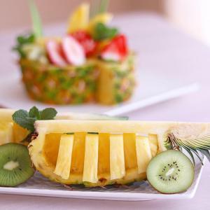 パイナップルカッティング&アレンジ2種