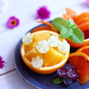 オレンジとぶどうとプライベートなお話し。