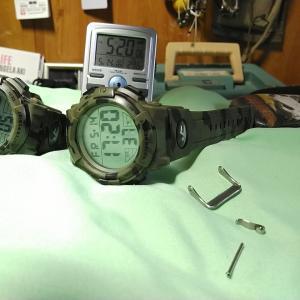 5月14日 金曜日 1800円 腕時計 故障