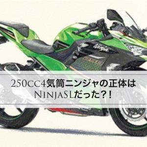 250cc4気筒ニンジャの正体はNinjaSLだった?!