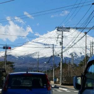 1月9日 散策 富士山御殿場太郎坊洞門~2キロ付近リターン散策