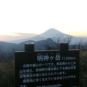 2021年3月15日 箱根外輪山時計周遊 トワイライトナイト乙女駐車場上~