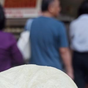 台湾行列肉まん高雄「中正肉包」