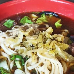 台湾鳳山夜市「蘭州牛肉麵」