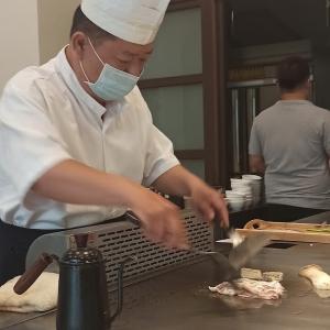 台湾家庭1230円コース鉄板料理「八街三路x精緻鐵板燒料理」