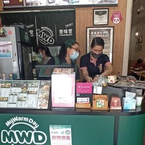 台湾朝食&昼食チェーン「麥味登」