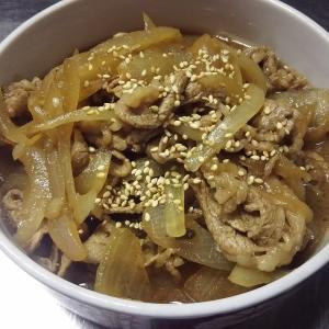 あっという間の牛丼弁当レシピ