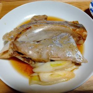 今日は釈迦内ビックで大物が釣れたのでマグロのカマ煮
