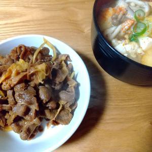 私が断固としておすすめするホッコリ納豆汁&秋北食堂の馬肉の煮つけ