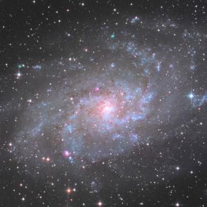 構図間違えた~ さんかく座銀河 M33
