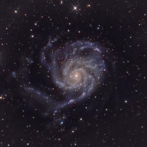 ツイン長焦点鏡でL/C撮影 M101祭り