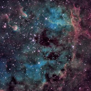 ちょっと怖いよ、。ドクロ星雲