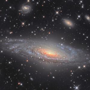 アンドロメダじゃないよ。。NGC7331