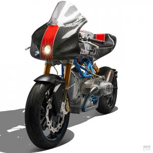 BATTLE OF THE TWINS REDUX プレーンな空冷ボクサーレーサー
