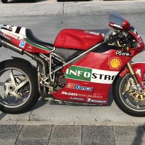 Ducati 998S Baylissプチお披露オフ会