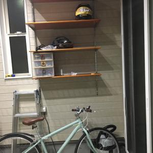 ビルドインガレージの棚(2)