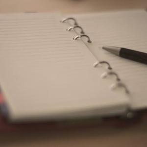 ブルーマンデー??「怨念手帳」持ってました。