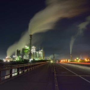 いわき市小名浜、久々の工場夜景撮影