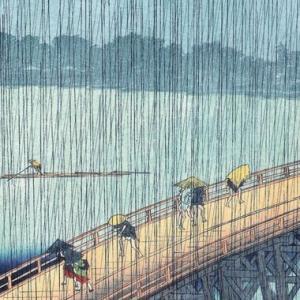大雨時行る(たいうときどきふる)七十二候・夕立