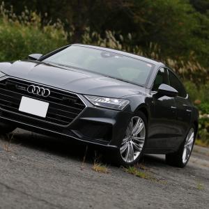 【洗練された内装は驚きの連続!】New Audi A7 55 TFSI quattro S-line インプレッション!