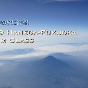 7ヶ月ぶりに空へ!ニューノーマル環境のANAプレミアムクラスで福岡に移動(ANA239 / HND-FUK / Premium Class)
