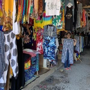 安いお土産探しに、スカワティ市場の仮店舗がお勧め!